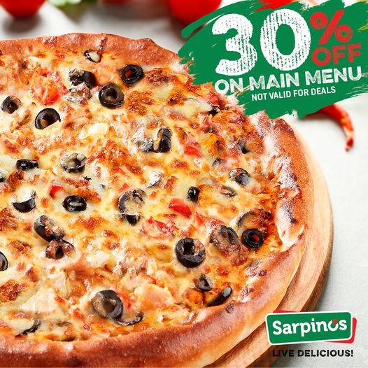 Sarpino's  - Main Menu Not Valid For Deals