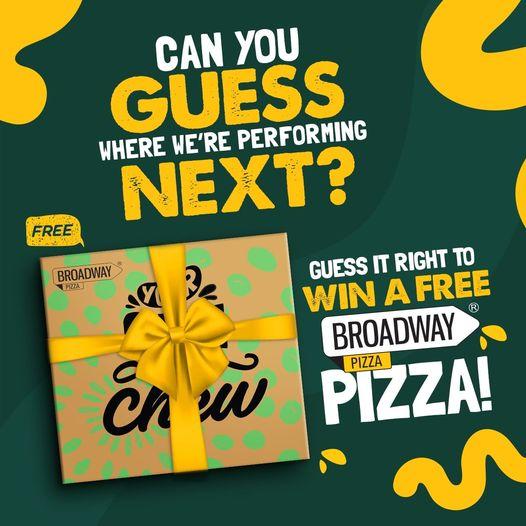 Broadway Pizza - Win A Free Pizza