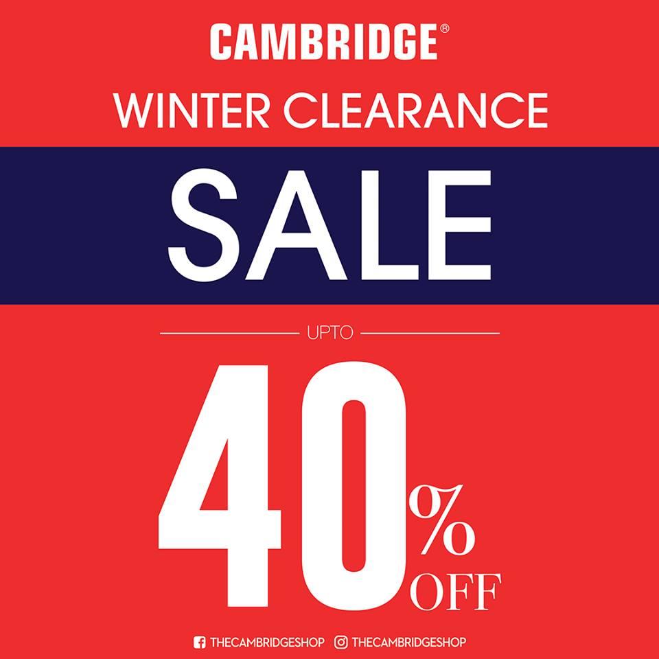 The Cambridge Shop - It's Time