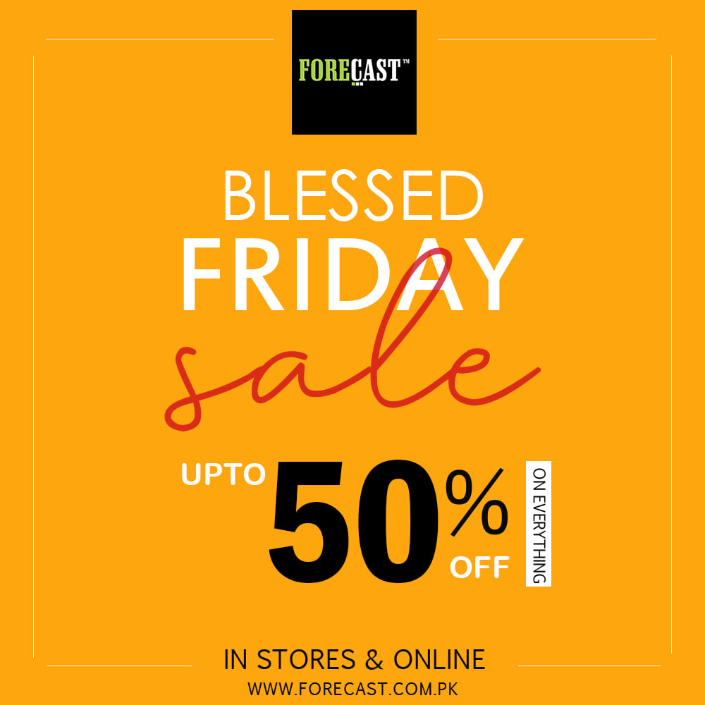 Forecast - Blessed Friday Sale