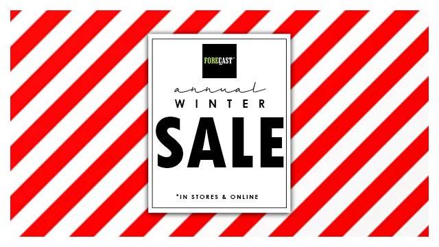 Forecast - Winter Sale