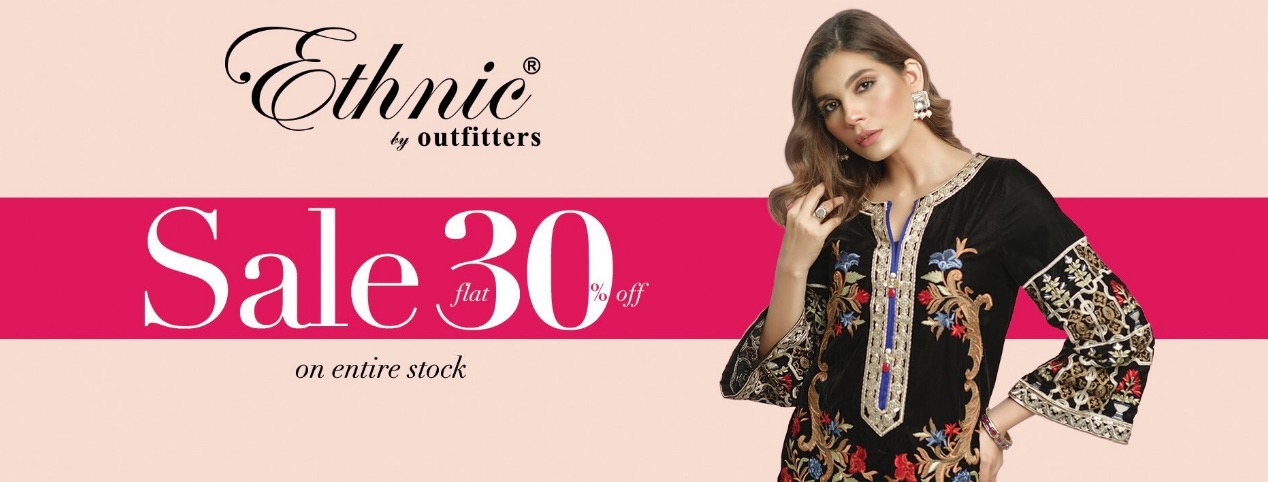 Ethnic By Outfitters - It's A Luxury Winter Sale!