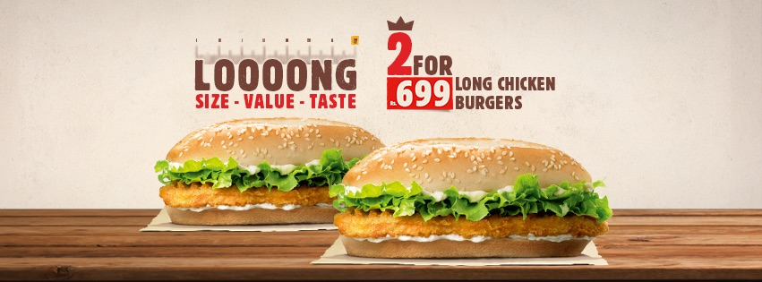 Burger King - LOOOONG Size Value Taste