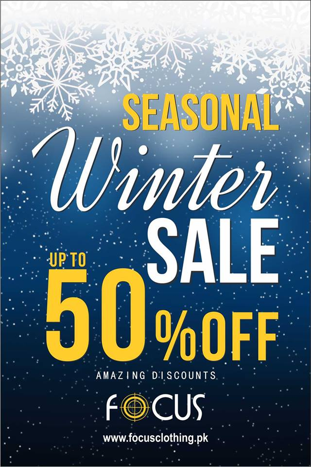 Focus - Seasonal Winter Sale