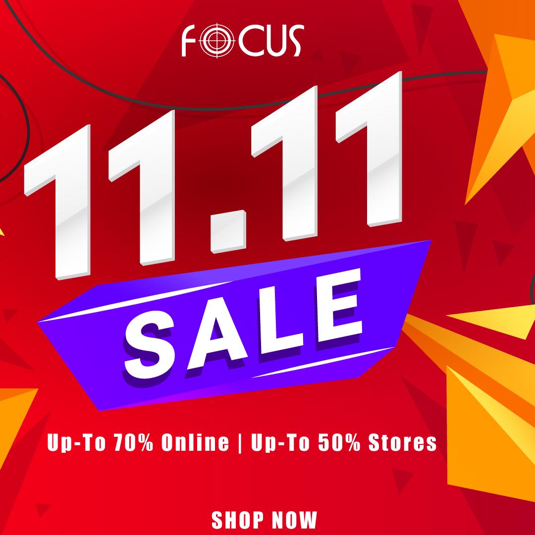 Focus - 11.11 SALE