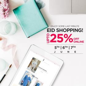 J. | Junaid Jamshed 25% Off On All Items Eid Sale Vallidd Till 7th Jun 2019