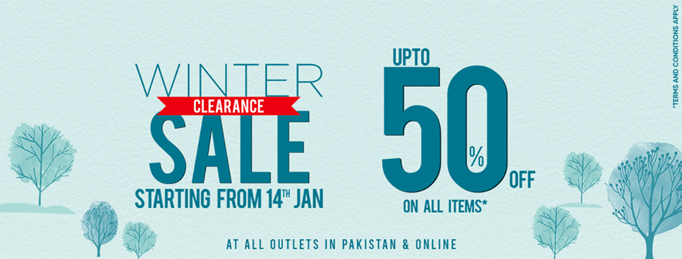 Junaid Jamshed - Winter Clearance Sale