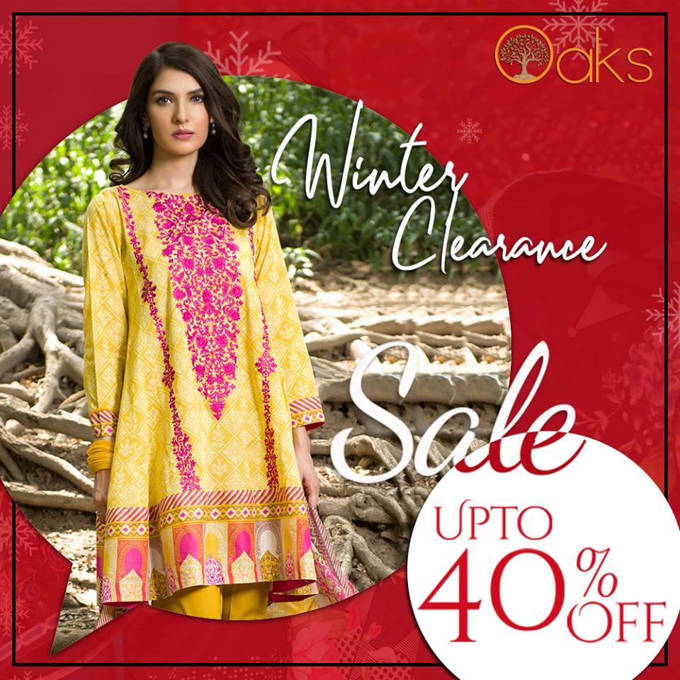 Oaks - Season Clearance Sale