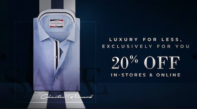 Chester Bernard - Luxury For Less, Exclusively For You
