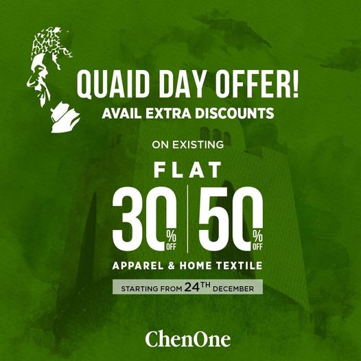 Chenone - Quaid Day Sale