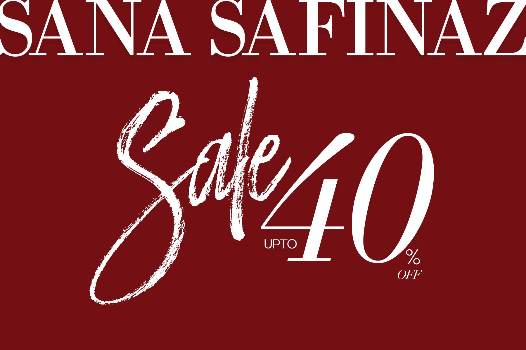 Sana Safinaz - SALE