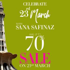Sana Safinaz - Celebrate Pakistan Day With Us