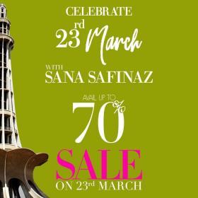 Sana Safinaz - Celebrate Pakistan Day With Us