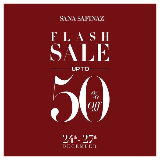 Sana Safinaz - Flash Sale