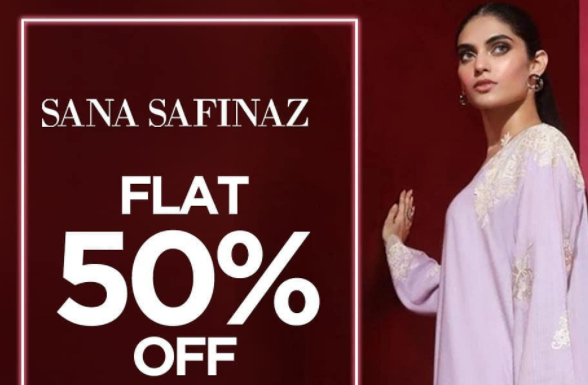 Sana Safinaz - Women Day Sale