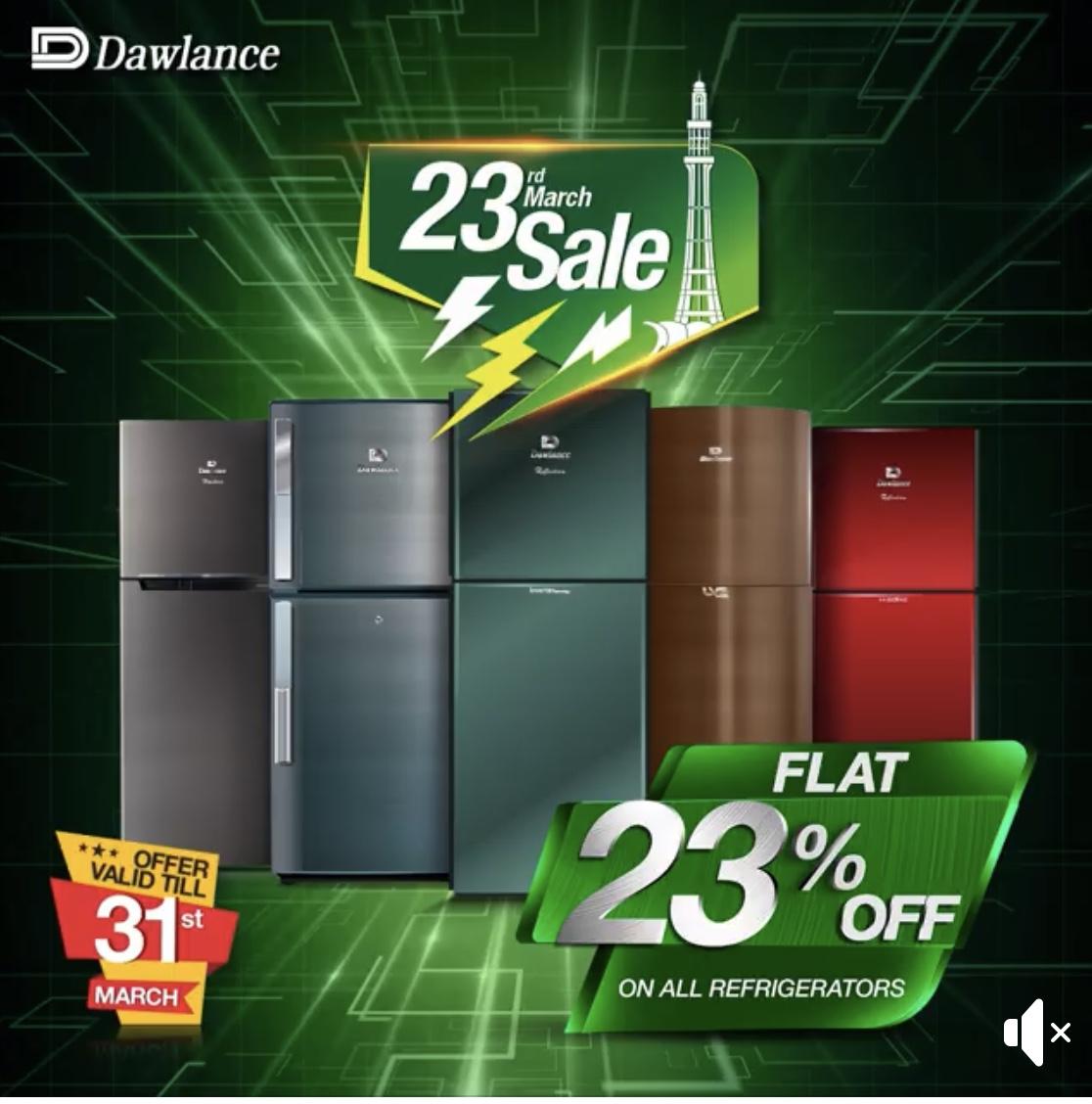 Dawlance  - Refrigrators On Sale