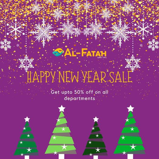 Al-fatah - Happy New Year Sale