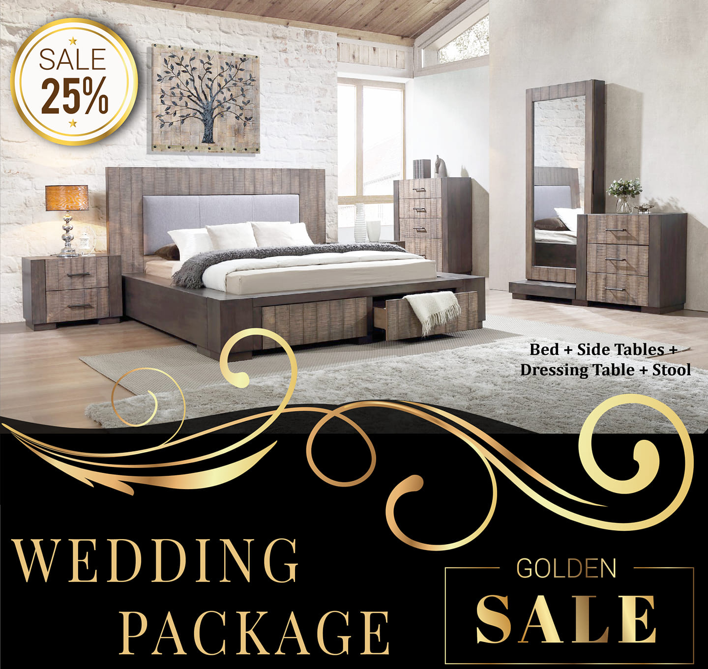 Style & Comfort - Wedding Packages
