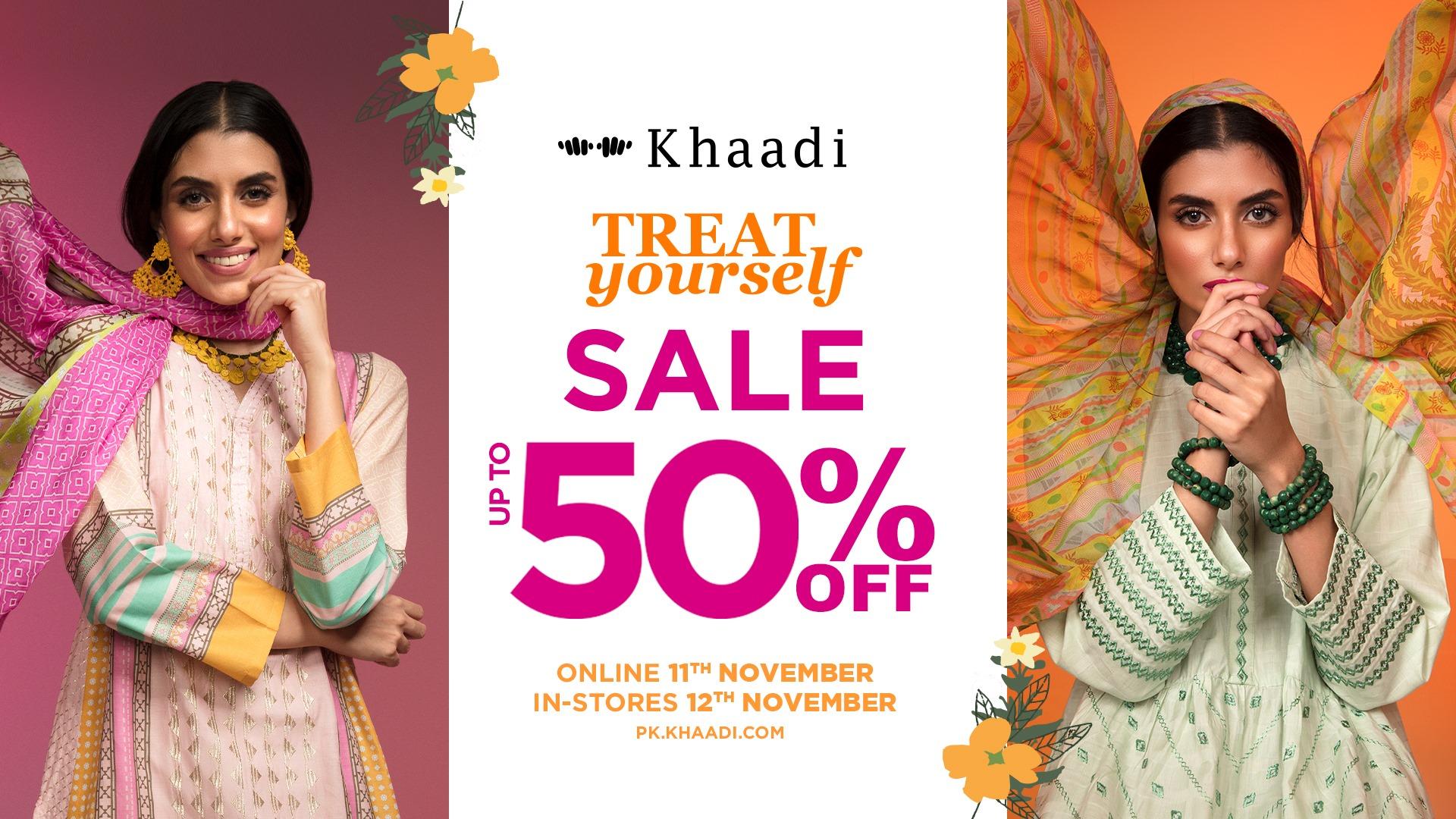 Khaadi - Treat Yourself Sale