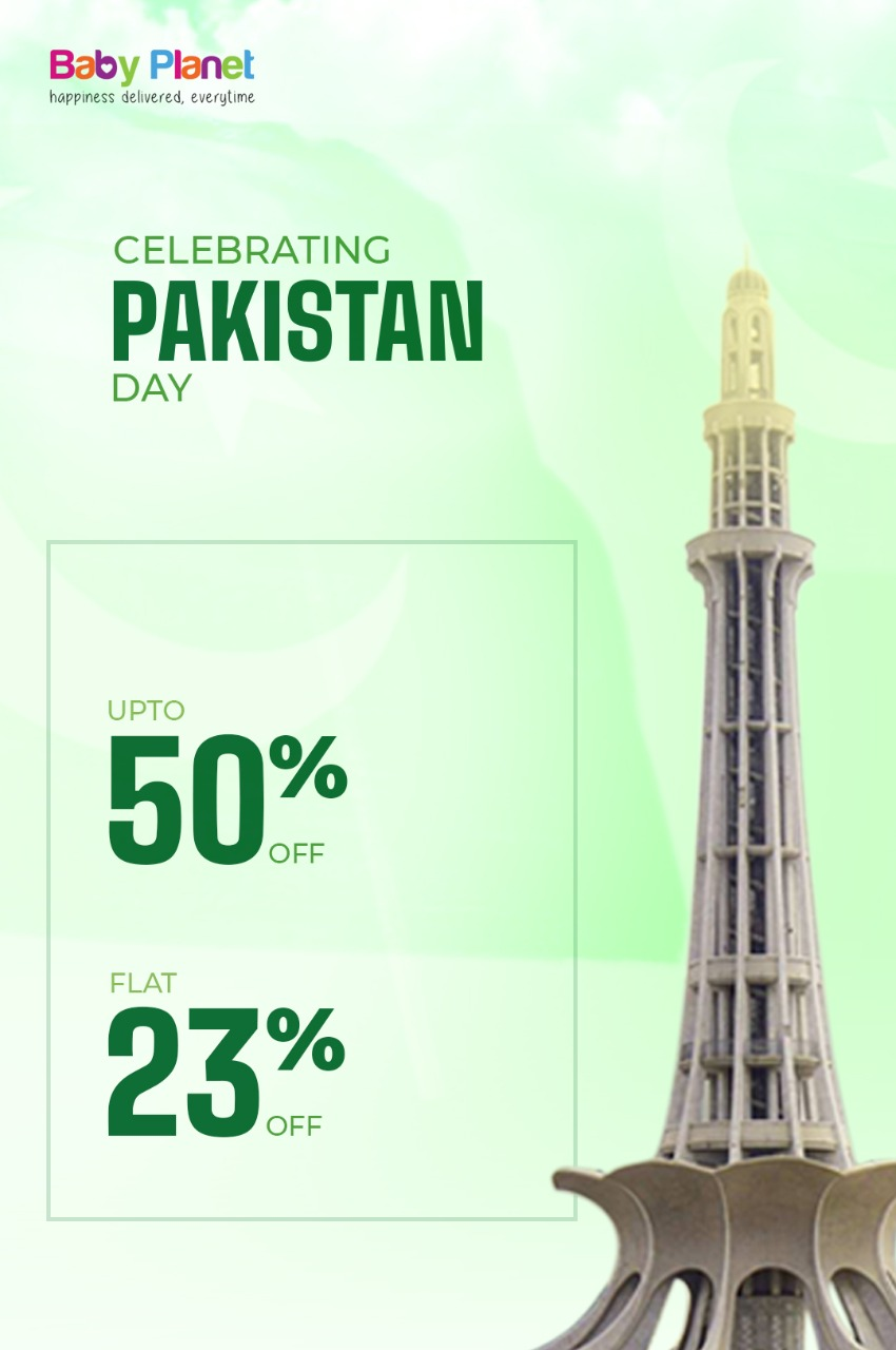Baby Planet - Pakistan Day Sale