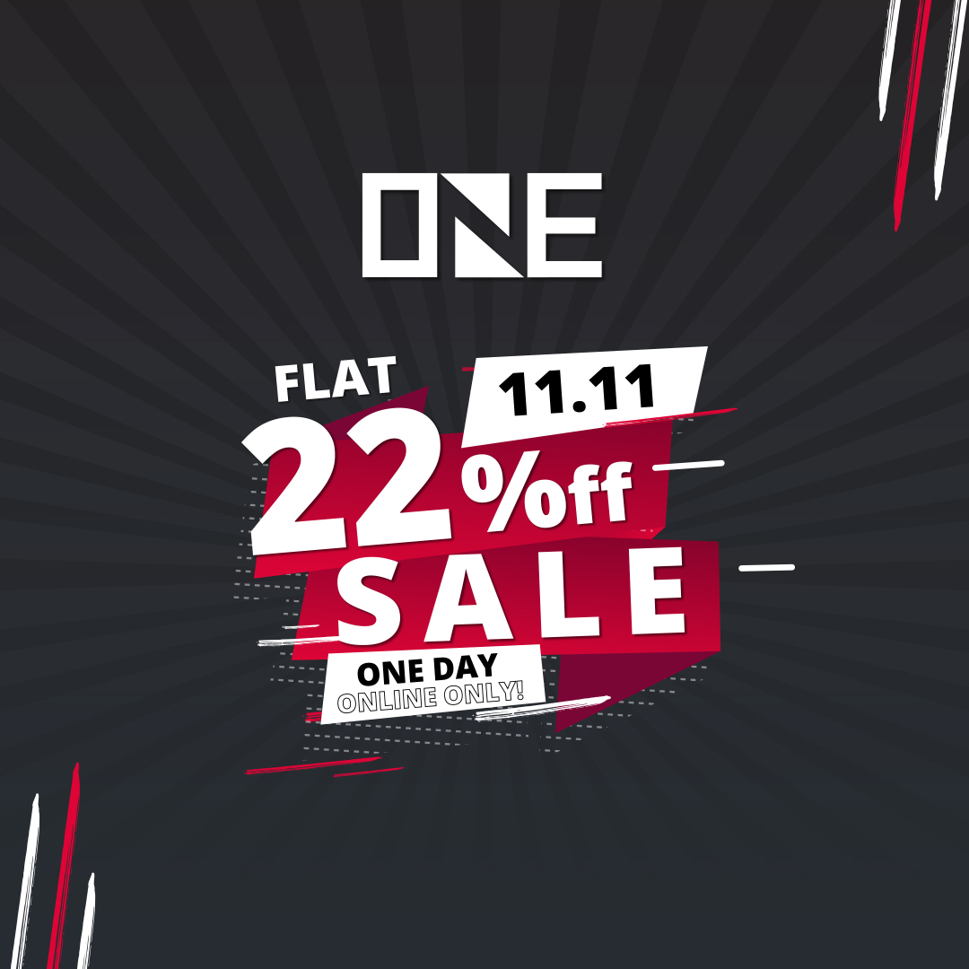 One - 11.11 Sale