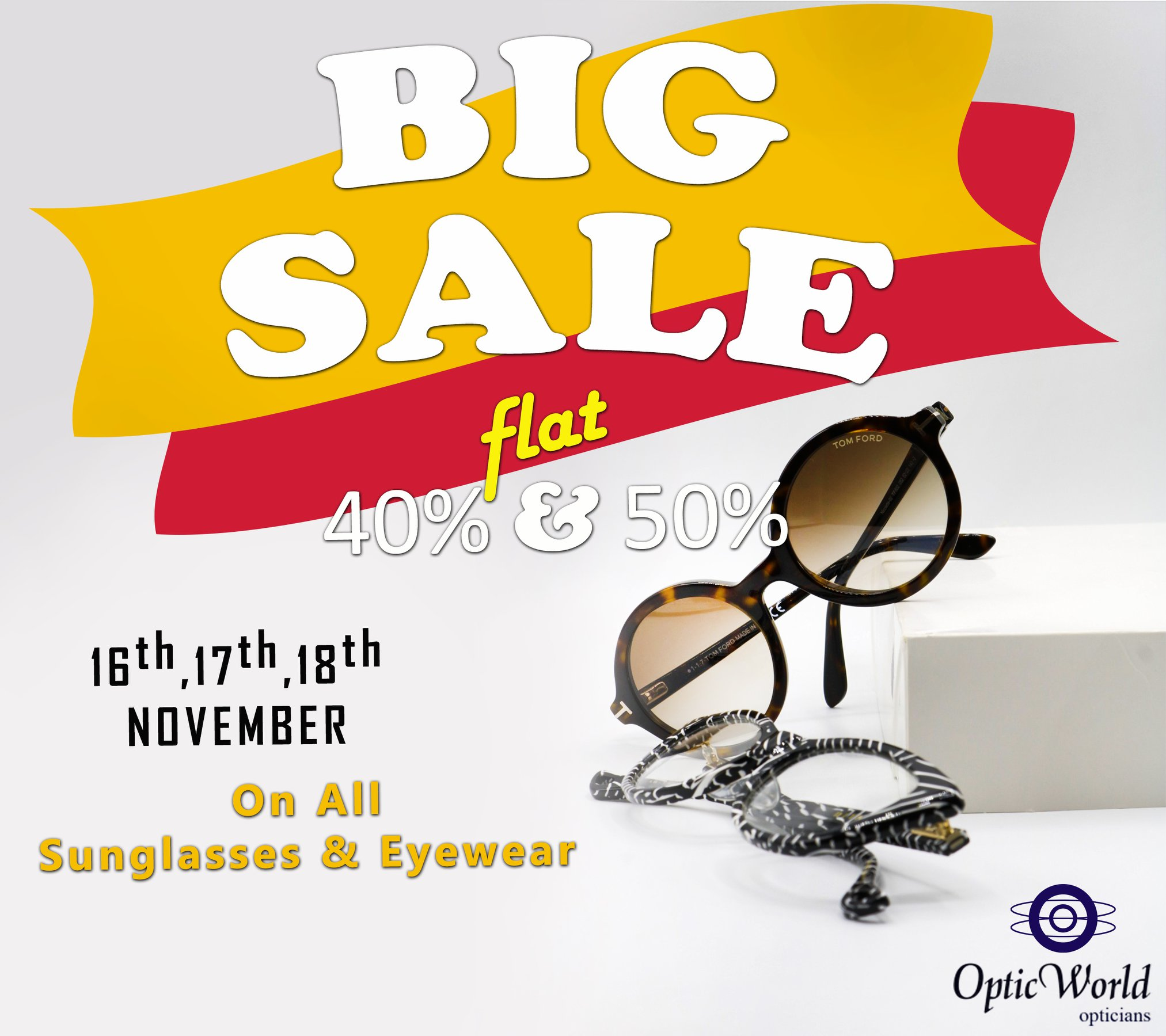 Optic World - Big Sale On Glasses