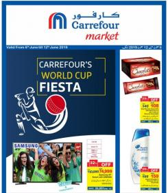 Carrefour Pakistan - Worldcup Fiesta Promotional Leaflet