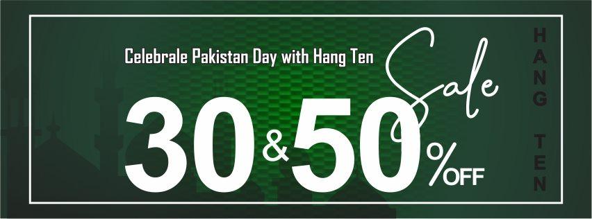 Hang Ten - Pakistan Day Sale