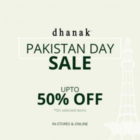 Dhanak - Pakistan Day Sale