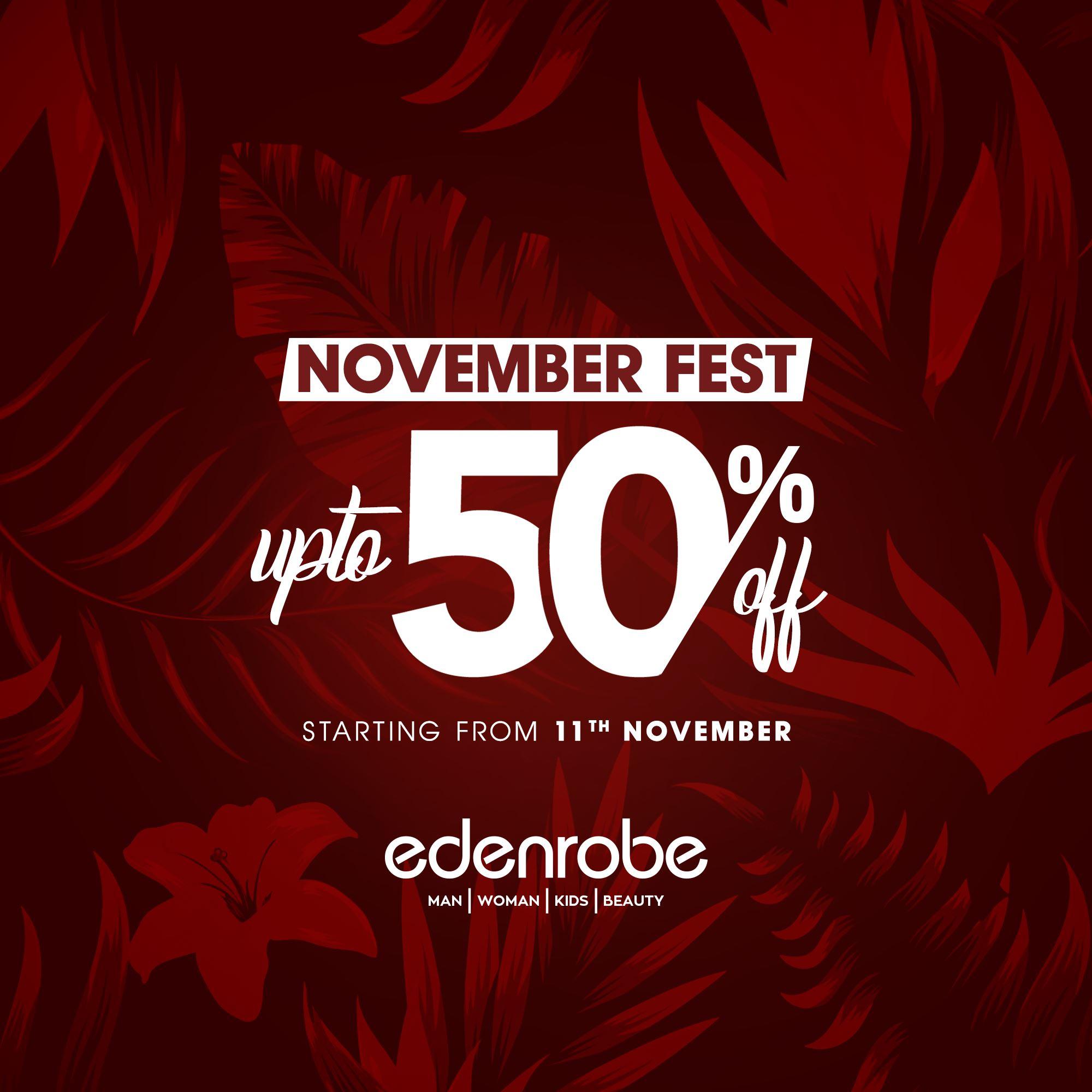 Edenrobe - November Fest