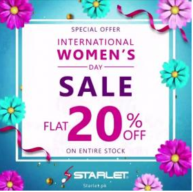 Starlet Shoes - Women's Day Sale
