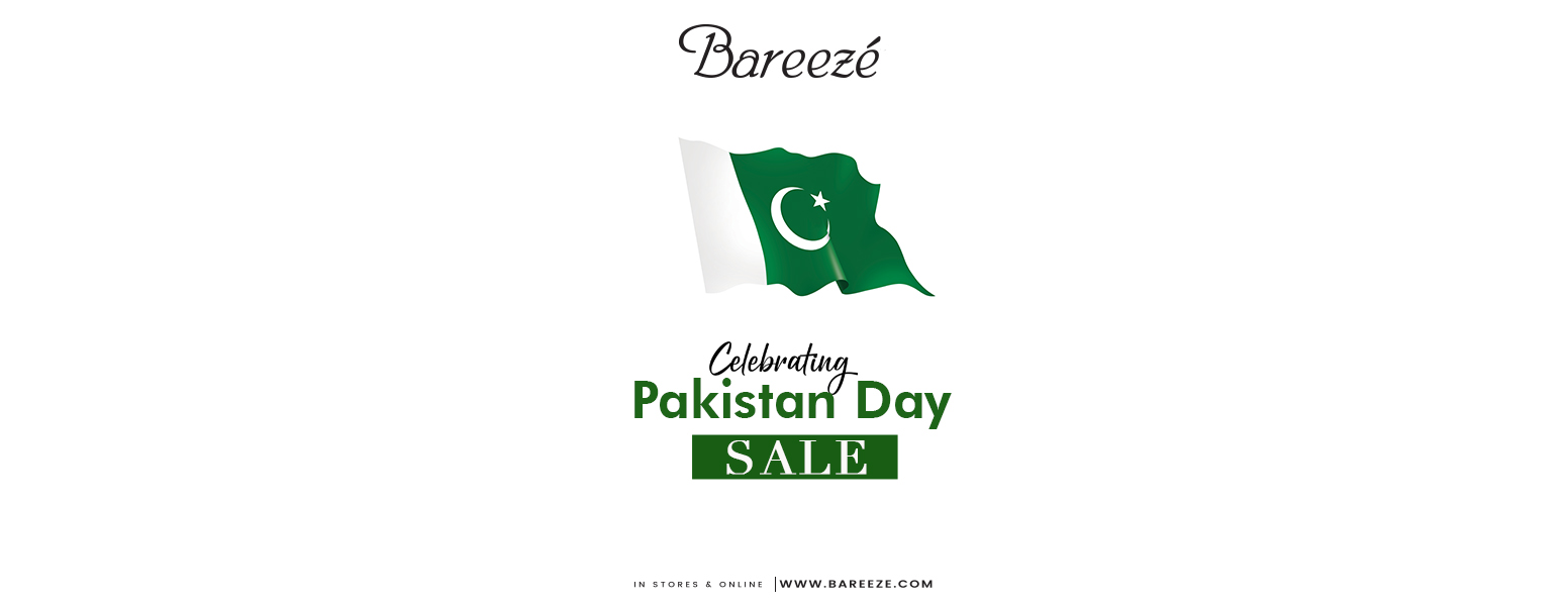 Bareeze - Pakistan Day Sale