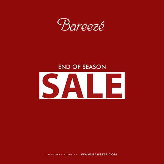 Bareeze - End Of Season Sale
