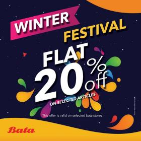 Bata - Winter Festival Sale