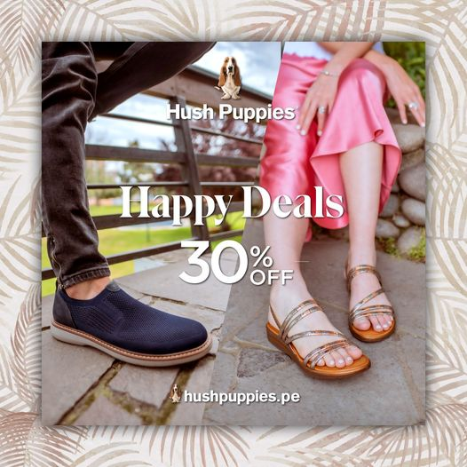 Hush Puppies - Happy Sale