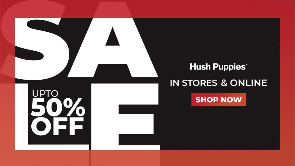 Hush Puppies - End Of Season Sale