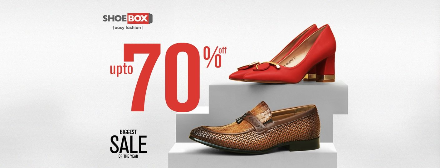 Shoebox Pakistan - Biggest Sale Of The Year