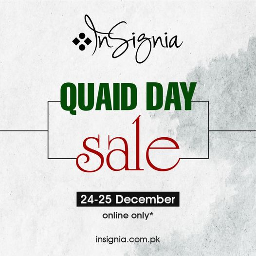 Insignia - Quaid Day Sale