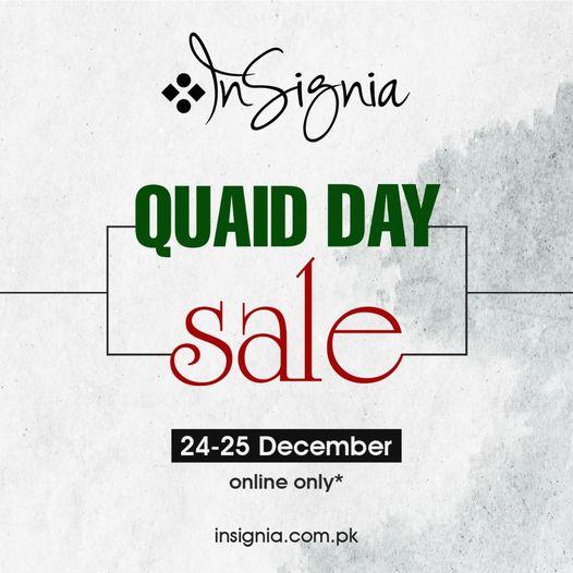 Insignia - Quaid Day Sale