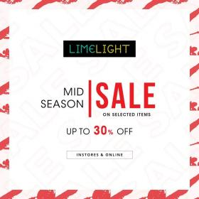 Limelight - Mid Season Sale