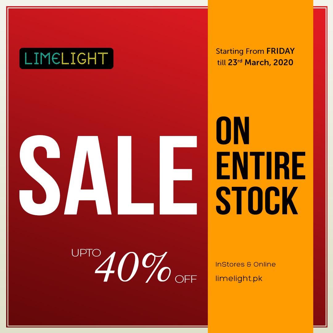 Limelight - Pakistan Day Sale