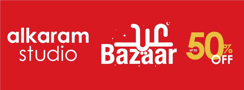 Alkaram Studio - Eid Bazaar Sale