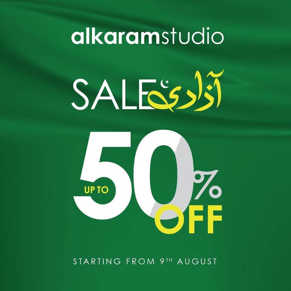 Alkaram Studio - Azadi Sale