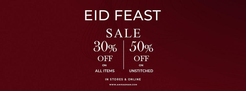 Amir Adnan - Eid Feast Sale