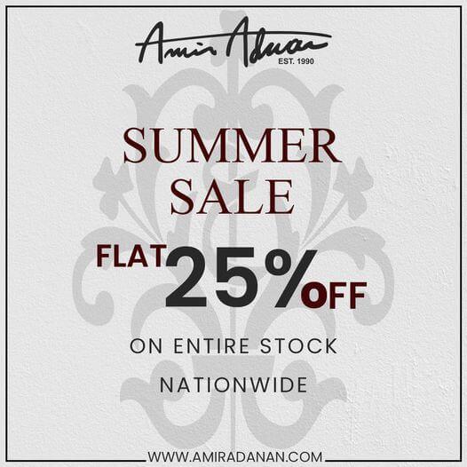 Amir Adnan - Summer Sale