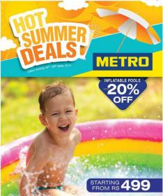 Metro Cash And Carry - Hot Summer Deals