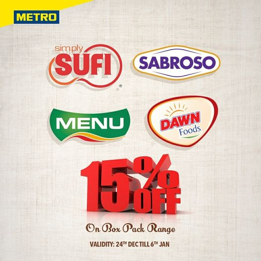 Metro Cash And Carry - New Year Sale