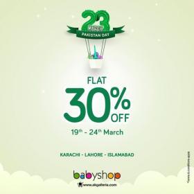 Babyshop - Pakistan Day Sale