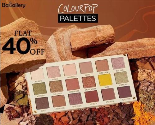Bagallery - Colourpop Sale