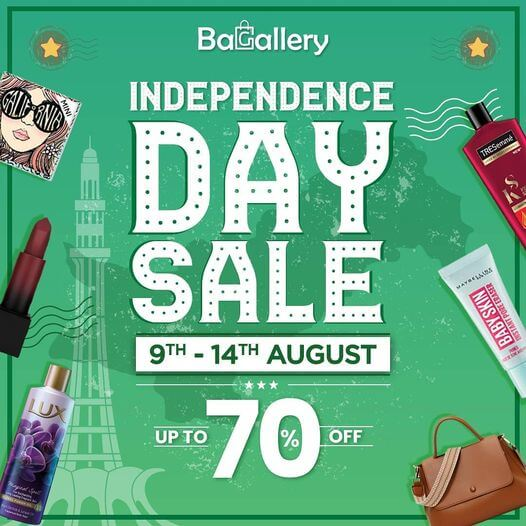 Bagallery - Independence Day Sale